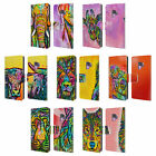OFFICIAL DEAN RUSSO WILDLIFE LEATHER BOOK WALLET CASE FOR SAMSUNG PHONES 1