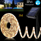 3m Solar Powered 180led Light Strip Ip65 Romantic Decoration Fairy Light Strip