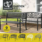 Gardeon Garden Bench Outdoor Furniture Chair Steel Backyard Patio Porch Park
