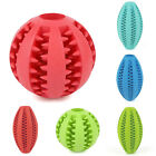 Rubber Ball Chew Pet Dog Puppy Teething Dental Healthy Treat Clean Toys Ardent