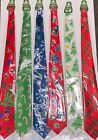 Uncle Bob's  Neck Tie Christmas & Holiday Ties UGLY SWEATER COLLECTION