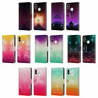 HEAD CASE DESIGNS STUDDED OMBRE LEATHER BOOK WALLET CASE COVER FOR XIAOMI PHONES