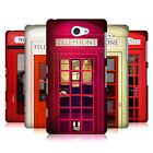 HEAD CASE DESIGNS TELEPHONE BOX HARD BACK CASE FOR SONY PHONES 4