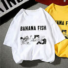 Внешний вид - BANANA FISH Ash Lynx Eiji Okumura Cosplay T Shirt Casual T-shirt Top Tee Anime