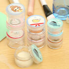 Cute Cosmetic Empty Jar Pot Eyeshadow Makeup Face Cream Container Mini Bottle TB