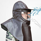 Heavy Duty Protective Mask Hood with Built-in Cap Labor Protection Dust Hood