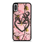 BROWNING BUCK AND DOE HEART PINK CAMO iPhone 6/6S 7 8 Plus X/XS Max XR Case