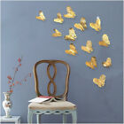 24pc 3d Butterfly Sticker Pvc Art Wall Decal Art Mural Removable Home Decoration