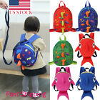 USA Kids Safety Harness Leash Anti Lost Backpack Strap Bag For Walking Toddler