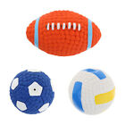 Pet Squeaky Chewing Balls Puppy Chew Toys for Medium Small Dogs