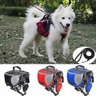 Dog Saddle Bag Travel Camping Back Pack Carrier Harness Outdoor High Quality