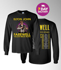 Elton John Farewell Yellow Brick Road concert tour Long Sleeve 2019 T-Shirt image