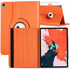 """For iPad Pro 12.9"""" 11"""" 10.5"""" 2018 Rotating Leather Folding Stand Hard Case Cover"""