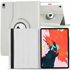 "For iPad Pro 12.9"" 11"" 10.5"" 2018 Rotating Leather Folding Stand Hard Case Cover"