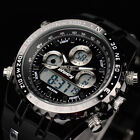INFANTRY Mens LED Digital Quartz Wrist Watch Chronograph Sport Army Cool Rubber image