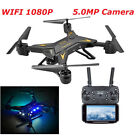 UK RC Drone Quadcopter With 5MP HD Camera WIFI 6-Axis Foldable Altitude Hold UFO