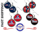FREE DESIGN w/Purchase of Earrings, 4 Styles, NEW ENGLAND PATRIOTS $9.99 USD on eBay