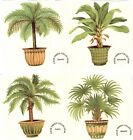 Potted Palm Tree Plants Select-A-Size Waterslide Ceramic Decals Xx image