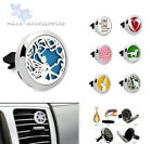 30mm Car Vent Clip Aromatherapy Diffuser Locket essential oil Stainless Steel $4.39 USD on eBay