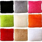 "Set Of 2 Throw Furry Pillow Case Cover Cushion Case 17"" x 17"" ZT24  image"