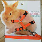 Kyпить Pet Rabbit Soft Harness Leash Adjustable Bunny Traction Rope for Running Walking на еВаy.соm