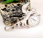 New Cute Horse Design Key Ring Chain watches children Students gift DK33