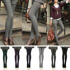 Fashion Womens Tights Knit Winter Pantyhose Thigh-Highs Warm Cotton Stockings