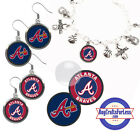 FREE DESIGN > ATLANTA BRAVES -Earrings, Pendant, Charm, Keyring <FAST SHIP> on Ebay