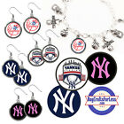 FREE DESIGN > NEW YORK YANKEES -Earrings, Pendant, Bracelet, Charm <FAST SHIP> on Ebay