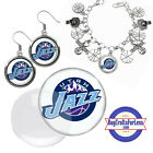 FREE DESIGN > UTAH JAZZ -Earrings, Pendant, Bracelet, Charm, Keyring <FAST SHIP> on eBay