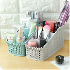 Plastic Makeup Holder Kitchen Desktop Bathroom Storage Organizer Basket Case
