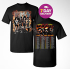 Kiss 'End of the Road' World Tour Dates 2019 Kiss T-shirt tee all size. image