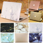 """Luxury Silk Leather/ Marble Matte Hard Case for MacBook Pro 15"""" A1286 w/ CD-Rom"""