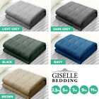 Giselle Bedding 2.3/ 5/ 7/ 9KG Cotton Weighted Blanket Heavy Gravity Kids Adult
