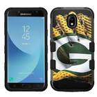 Samsung Galaxy J3 Achieve 2018 Glove Design Rugged Armor Hard+Rubber Hybrid Case $19.95 USD on eBay