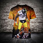 NFL Pittsburgh steelers Primary Short Sleeve T-Shirt fan's gift Tee Top Shirts