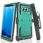 Samsung Galaxy Note8 Triple Protection Heavy Duty Rotating Swivel Holster Shell