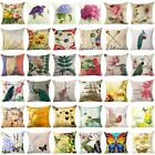 Throw Case Cover Pillow Floral Decor Cushion Home Couch Cover Pillow Sofa Flower image