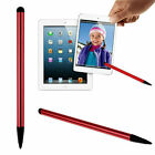 2 in 1 Universal Touch Screen Pen Stylus For iPhone iPad Samsung Tablet Phone PC