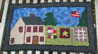 Внешний вид - Quilts on the Line  Primitive Rug Hooking Kit with #8 cut wool strips