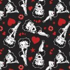 Betty Boop Fabric Sassy Love Betty In Love Camelot Fabrics Premium Cotton $8.99 USD on eBay