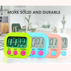 Large LCD Digital Kitchen Timer Cute Candy-colored Countdown timer W/Magnet&hook
