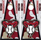 Arizona Diamondbacks Cornhole Wrap MLB Decal Vinyl Gameboard Skin Set YD87 on Ebay