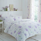 Charlotte Thomas Kendall Purple Floral Design Duvet Set and/or Curtains