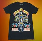 New Guns N Roses Men's 1988 Tour  Appetite for Destruction GNR Vintage T-Shirt image