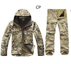 2PCS New Outdoor Winter Hunting Mens Jacket Coat +pants Waterproof Coat Thicken