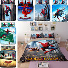 Spider-Man Twin Full Queen King Size Duvet Quilt Cover High-quality Bedding Set  image