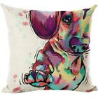 Hot sale Cute Dog dropship pillow cover Bed Home Festival high quality
