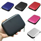 "1PC 2.5"" USB External Cable Hard Drive Disk HDD Cover Pouch Bag EVA Carry Case"