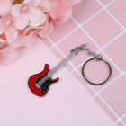 Creative metal electric guitar mini keychain key chain key ring gifts Pip E_CH